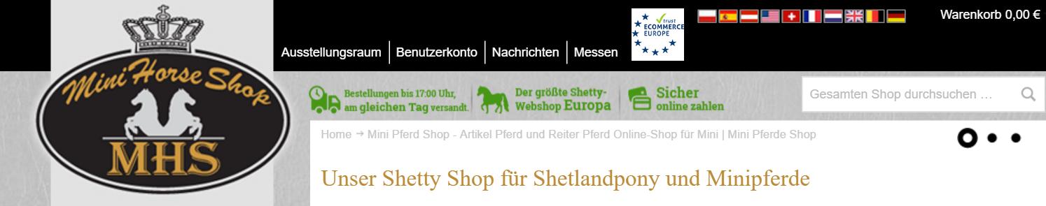 Mini Pferd Shop